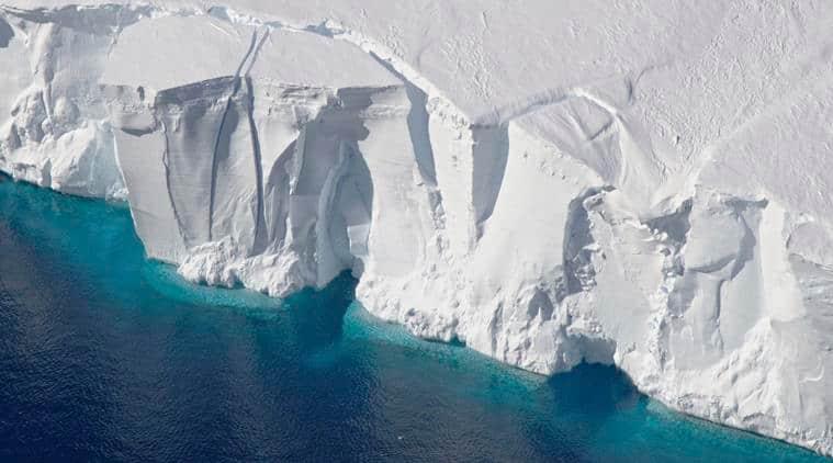 antarctica, NASA, antarctic ice, antarctic ice melting, global warming, world news, indian express news