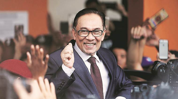 Anwar Ibrahim in India on 5-day visit