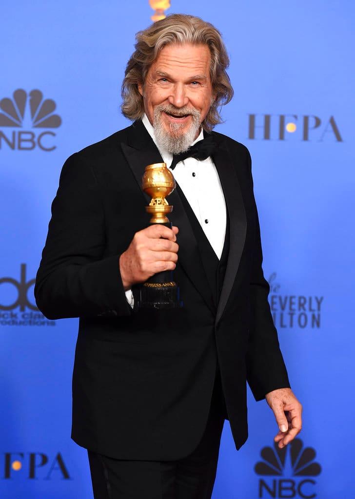 Jeff Bridges at Golden Globes