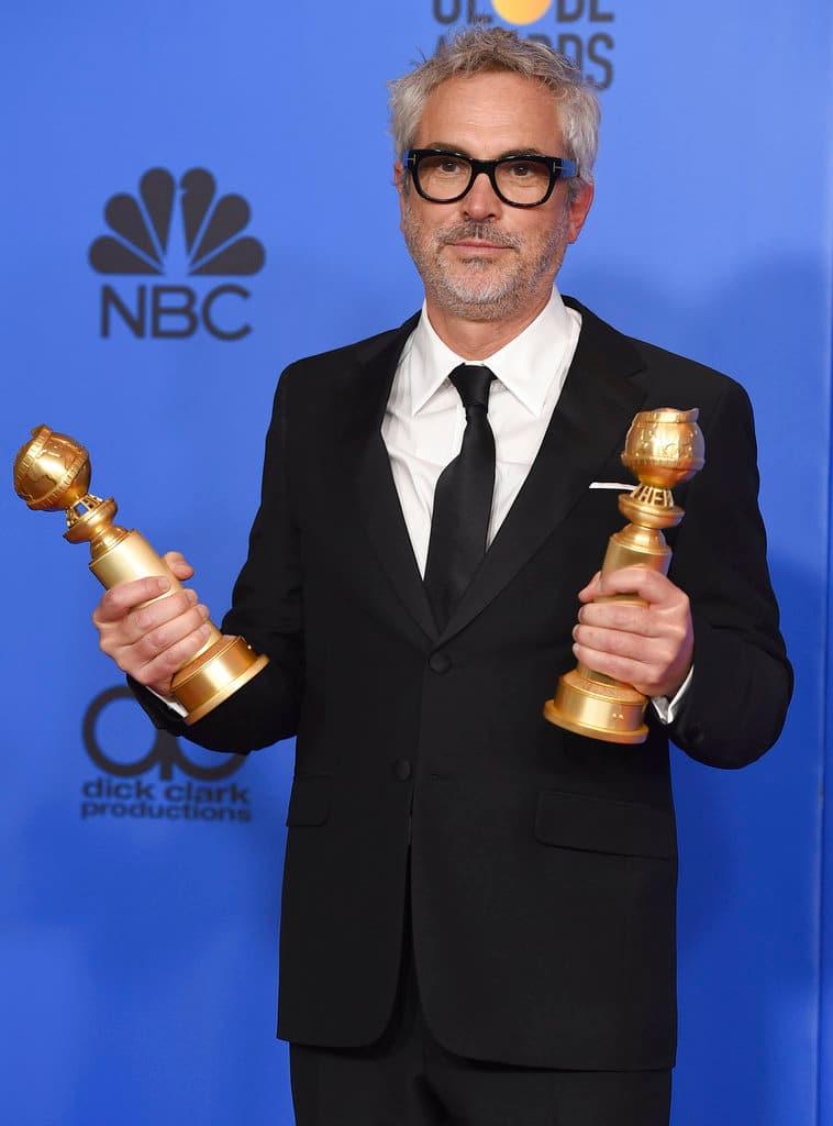 Alfonso Cuaron at Golden Globes
