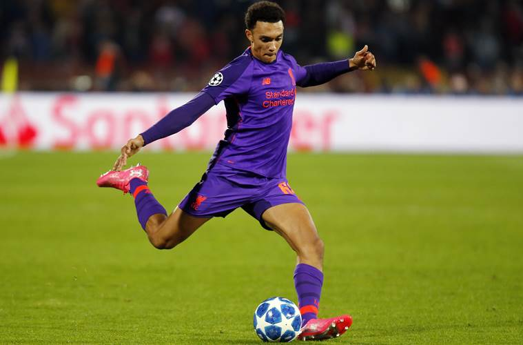 Alexander-Arnold commits to Liverpool with new contract