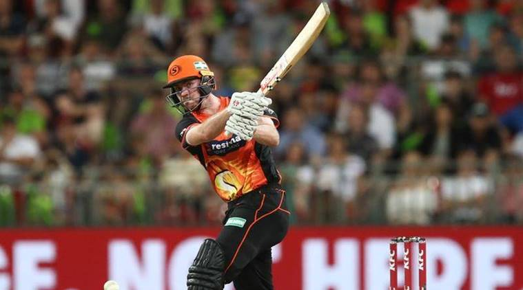 Ashton Turner in action in the Big Bash league