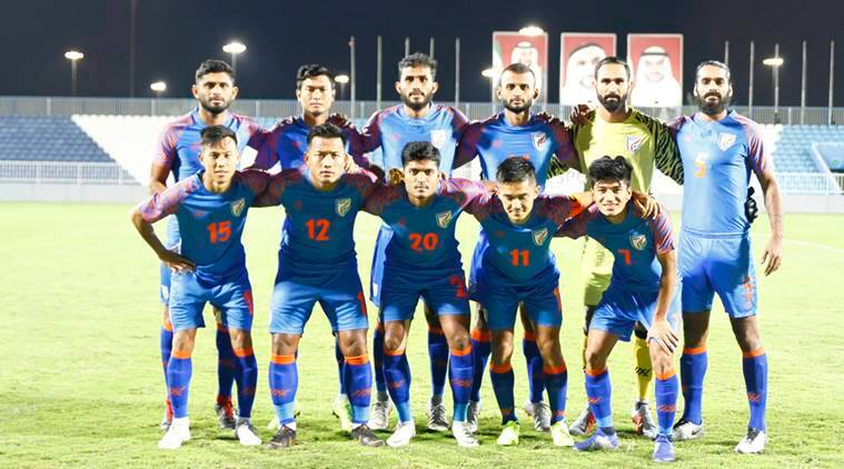 Indian team for the friendly against Oman prior to the AFC Asian Cup
