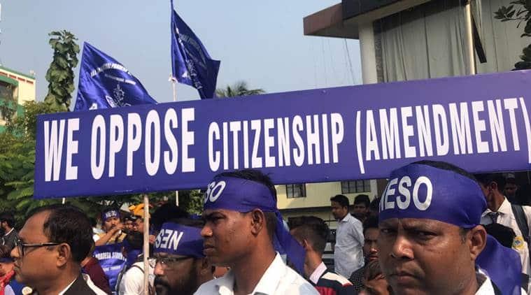 assam bandh, assam hartal, assam citizenship bill, citizenship amendment bill lok sabha, assam protest citizenship bill, assam bandh latest news, assam bandh live, indian express news