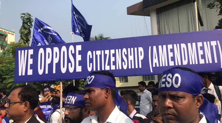 assam bandh, assam hartal, assam citizenship bill, citizenship amendment bill lok sabha, assam protest citizenship bill, assam bandh latest news, assam bandh live, indian express news