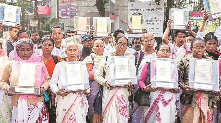 Kin of those killed in Assam movement return mementos