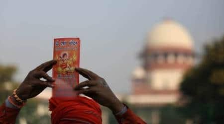 Ayodhya hearing, Ayodhya land dispute case, babri masjid-ram janmabhoomi dispute, supreme court on ayodhya, sc verdict on ayodhya