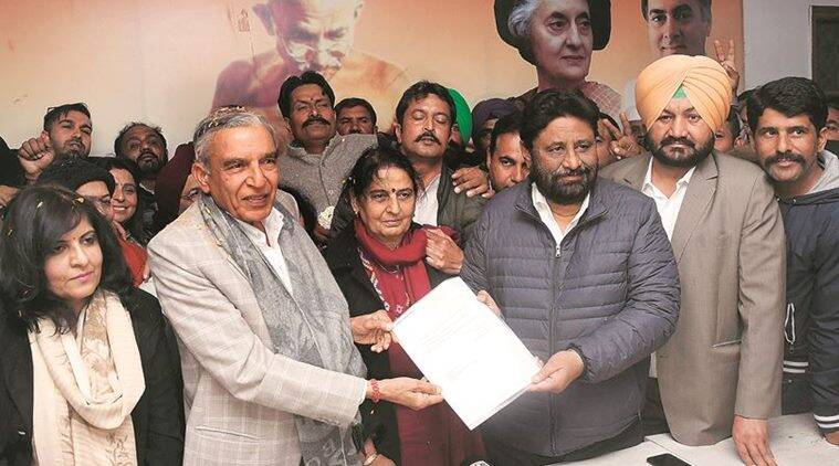 Pawan Bansal makes formal claim for Congress ticket from Chandigarh