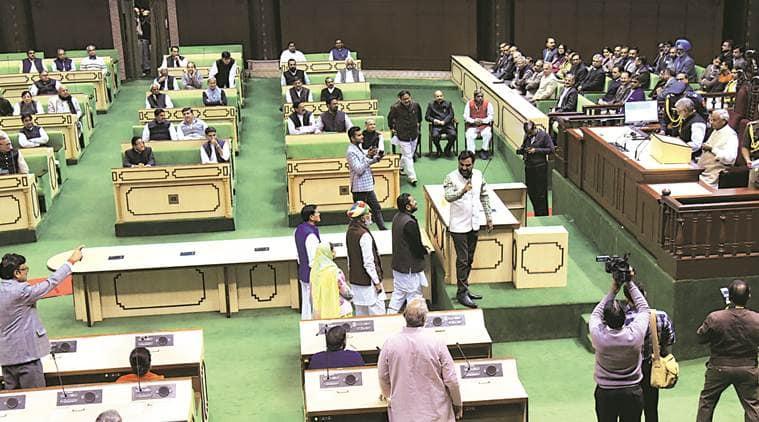 Rajasthan assembly: MLA uses foul words against Governor, sparks ruckus