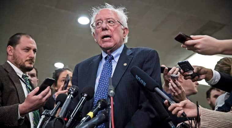 Bernie Sanders Launches Second Democratic Us Presidential Bid