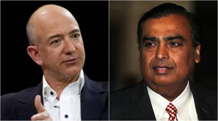 Bezos vs. Ambani is the bout that had to happen