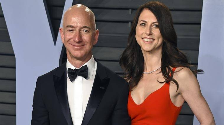 jeff bezos, jeff bezos divorce, amazon, amazon ceo jeff bezos, mackenzie bezos, mackenzie bezos divorce, billionare, world billionares, bill gates, warren buffett, amazon stocks, philanthropy, technology news, indian express news