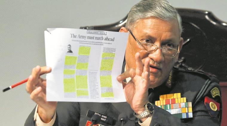 Army chief, Army Chief Bipin Rawat, Army chief comment on gay sex, bipin rawat on homosexuals, no homosexuals in indian army, india news, Indian Expressnews