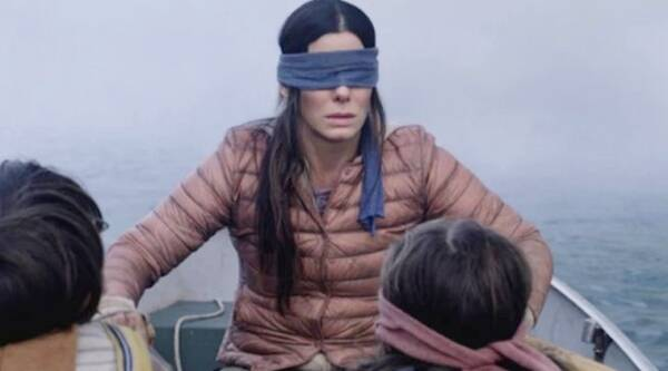 sandra bullock in bird box