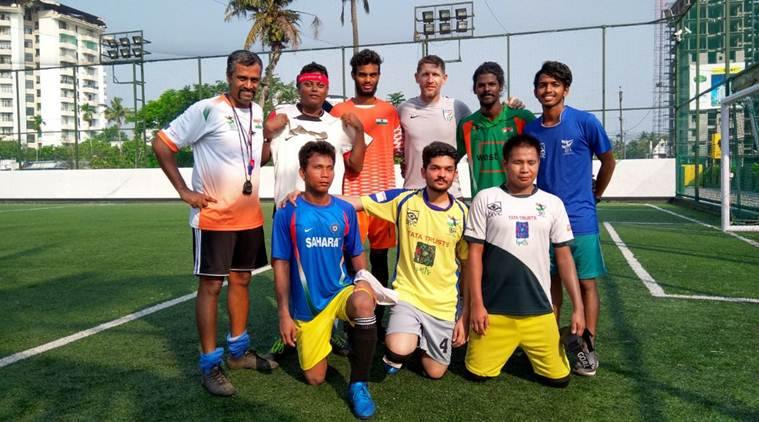 Indian team donates Rs 50,000 to Indian Blind Football