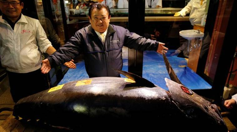Bluefin sold for  million in first 2019 sale at Tokyo market