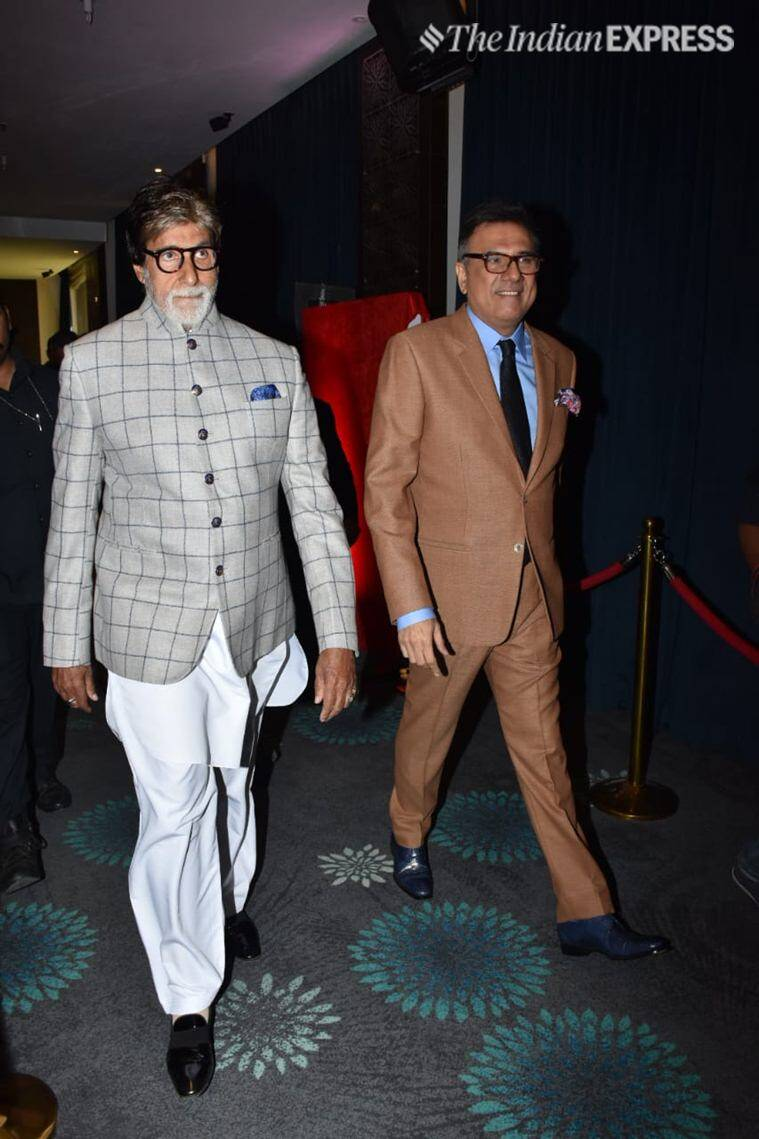 amitabh bachchan at boman production house launch