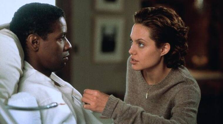 denzel washington and angelina jolie in bone collector