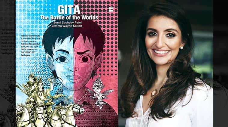 Sonal Sachdev Patel, the gita, gita for children, childrens books