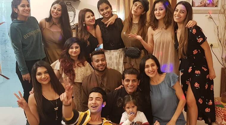 boss poss 12 contestants new year party photos