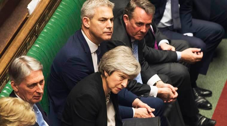 Brexit: UK MPs back PM May's bid to reopen deal, EU says 'not open for renegotiation'