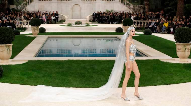 Chanel, Chanel Haute Couture Bridal Swimsuit