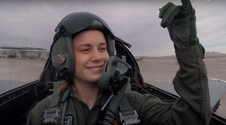 captain marvel behind the scenes clip