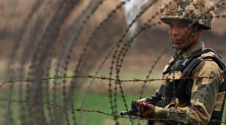 pakistan, pakistan national held, pakistan national held in gujarat, rann of kutch, bsf, border security force, india pakistan, indian express news