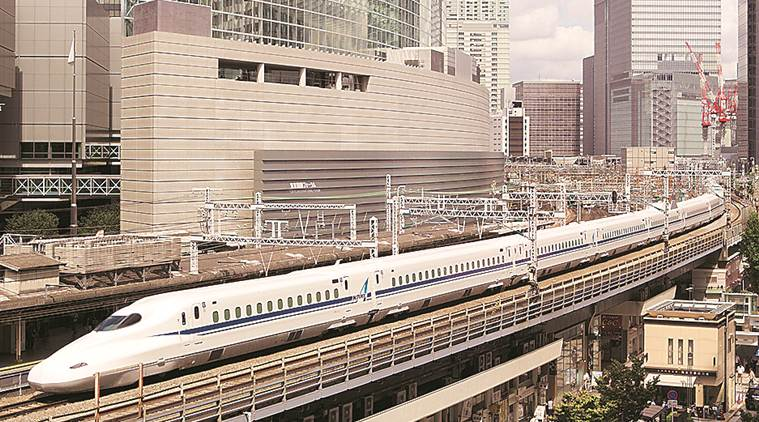 A well-behaved bullet train: will say sorry even if late by couple of mins