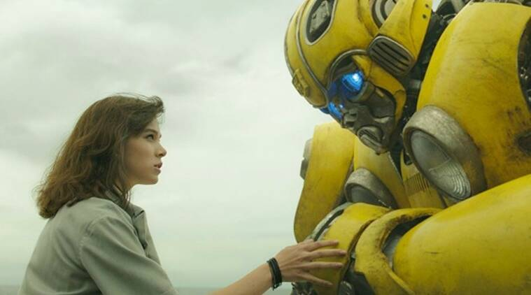 bumblebee movie review this origin film might bring you back for a repeat entertainment news. Black Bedroom Furniture Sets. Home Design Ideas