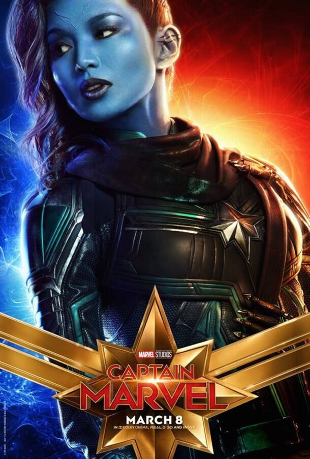 gemma chan in captain marvel