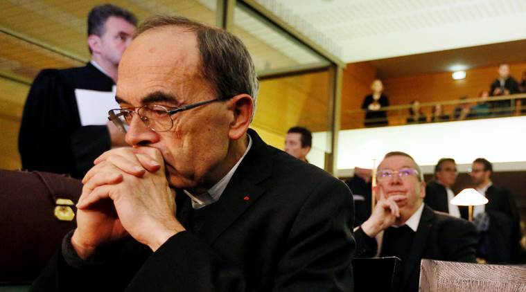 France, Cardinal Philippe Barbarin, Phillipe Barbarin, Church sex abuse, Pope Francis, France Catholic, Vatican church sex abuse, World news, latest news