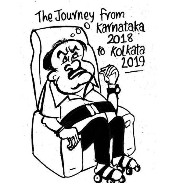 Karnataka crisis: 2 skip Congress meet, 2 show 'reason