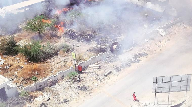 PMC has not been able to check garbage burning across city, reveals RTI data