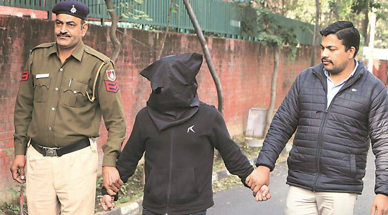 gambler arrested, police, burail jail, chandigarh news, indian express news