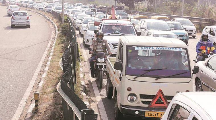Chandigarh Traffic Police's diversion plan run over by chaos on Day 1