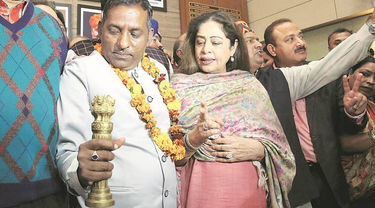 Chandigarh: BJP's Kalia wins, promises to make City more Beautiful