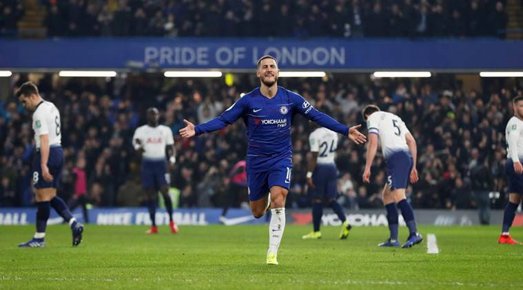 CE Eden Hazard hints at Chelsea stay