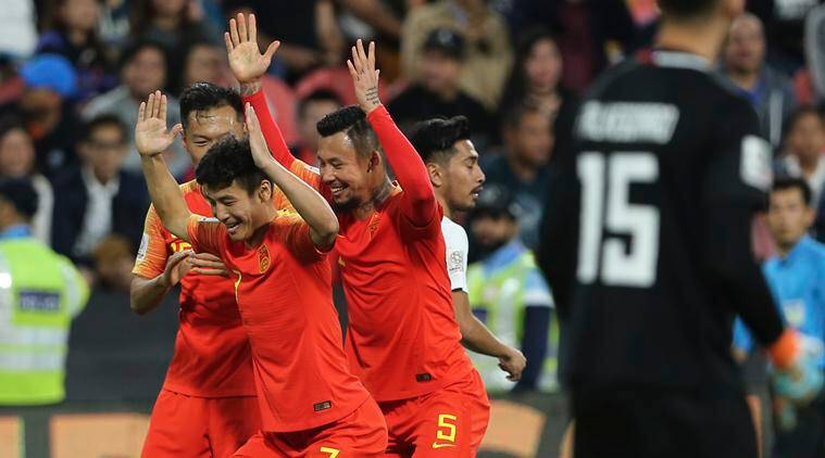 China advances to Asian Cup last 16