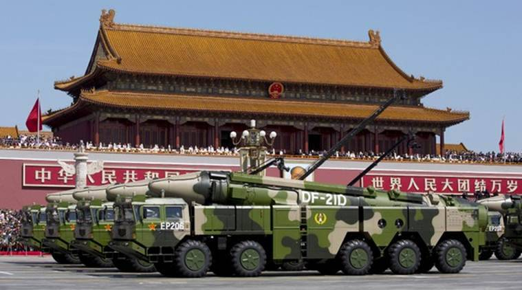 China is rapidly building robust lethal force to impose its will in the region: US official