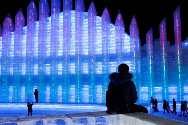China kicks off world's biggest ice festival