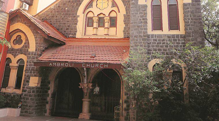 university of mumbai, ambroli church, ambroli church mumbai, dr john wilson, girgaum, christians, christian community, mumbai news, indian express news