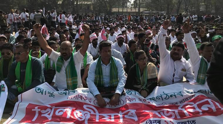 Assam's Bojro Ninaad: Citizenship Bill protest brings out the young and old, as well as memories of the past