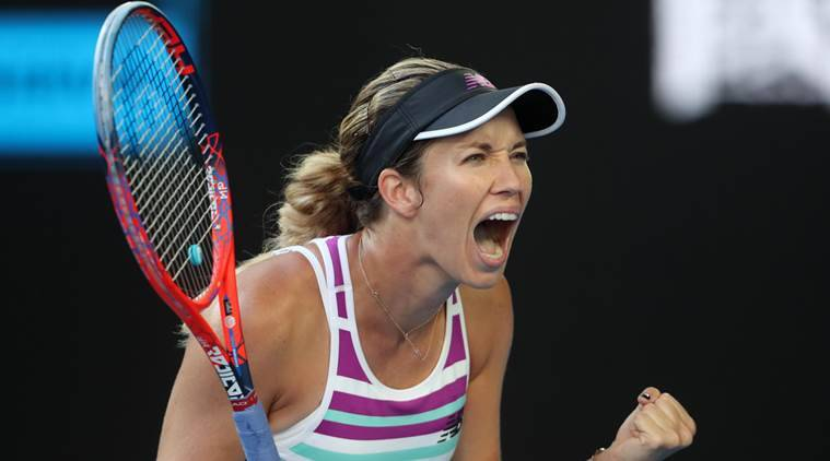 Australian Open 2019 Danielle Collins Rallies Past Anastasia