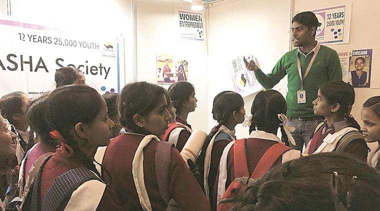 Army, Air Force among top draws at career conclave for Delhi govt schools