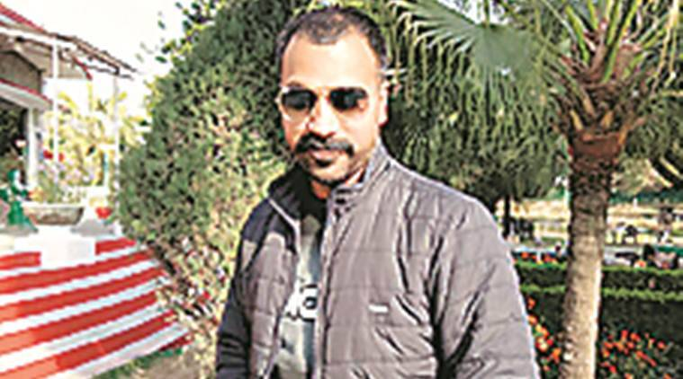 Constable Ashok Kumar is currently posted at Sadar Police Station in Hoshiarpur district. (Express photo)