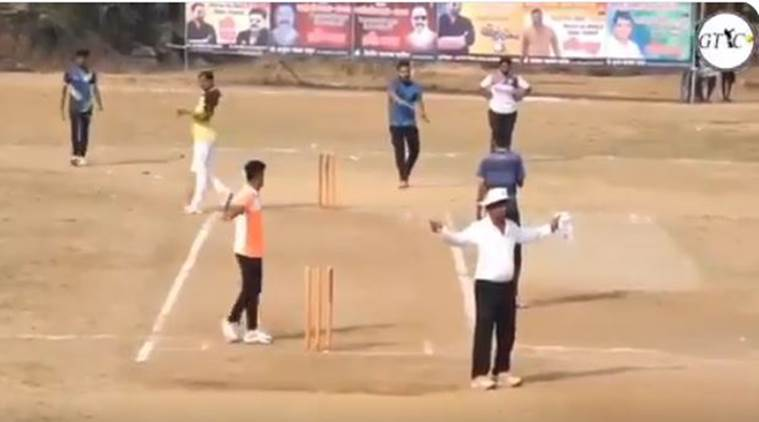 Watch Maharashtra Team Need Six Runs In One Ball, Wins By -3747