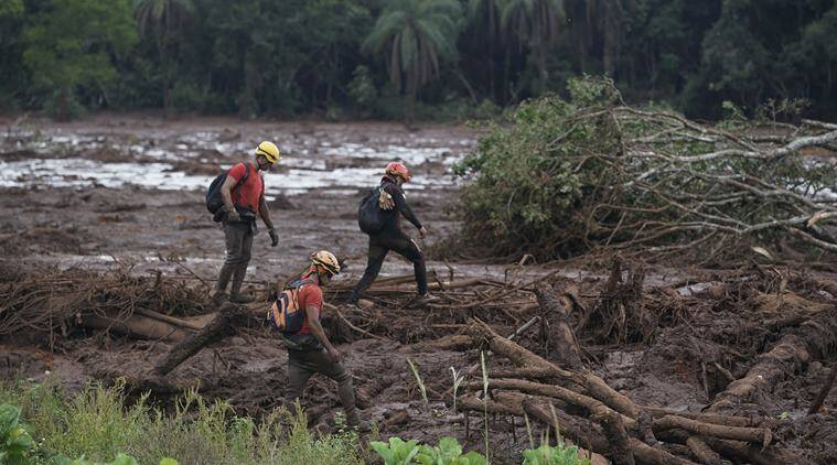 At least 40 dead, many feared buried in mud after Brazil dam collapse