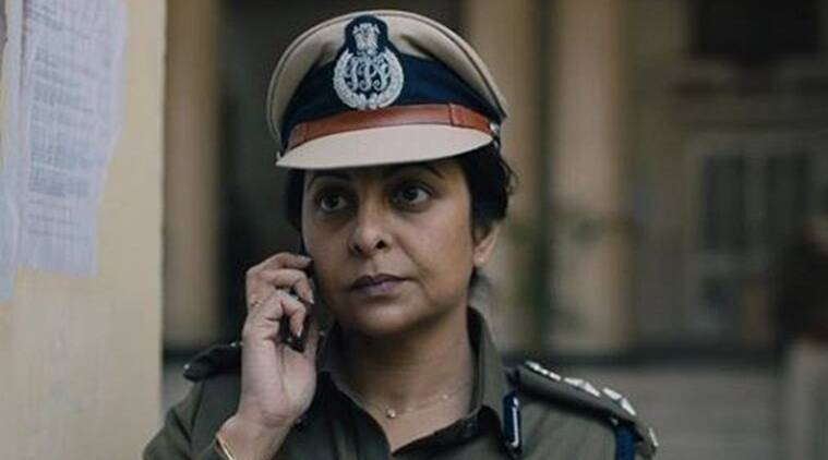 Shefali Shah and Adil Hussain in Delhi Crime Story