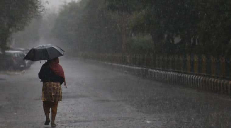delhi rain, rain today, delhi rain today, delhi weather today, delhi weather, delhi weather updates, delhi rain updates, indian express